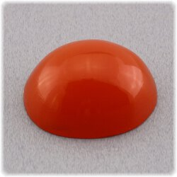 Karneol / Cabochon / orange / oval 15 mm x 12 mm / 8,80 ct.