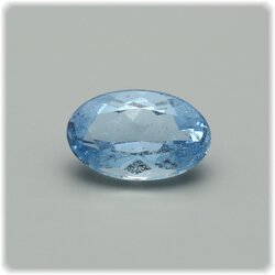 Aquamarin oval facettiert / 8 mm x 5 mm / 0.89 ct.