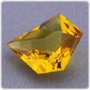 Gold Beryll facettiert / Fancy Cut / 12 mm x 10 mm / 3,83 ct. / Nigeria