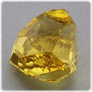 Citrin facettiert / Fantasie Effekt Schliff / 23,6 x 20 mm / 36,89 ct.