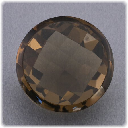 Rauchquarz Checker top facettiert / 20,14 mm / 33,22 ct. / Brasilien