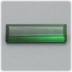 Turmalin Verdelith facettiert / Baguette / 22,2 mm x 6,8...